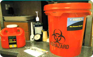Disposal of Biohazard Waste